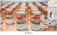 trail mix wedding favors