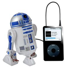 Star Wars R2 D2 MP3 speaker - Cool Gadget - Christmas Gift Idea - try it on your smartphone and be the talk of the office