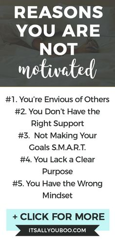 Struggling to get out of bed every morning? Wish you were motivated? Click here for 8 motivation killers you need to know about + exactly how to fix them and get motivated. #Motivation #Inspiration #Motivated #GetMotivated #MotivationTips #DailyMotivation #Motivate #GetMoving #SelfImprovement #GoalDigger #Success #Productivity #PersonalDevelopment #GrowthMindset #SelfHelp #Energy #AchieveYourGoals #PersonalGrowth #SelfDevelopment #Millennial Good Motivation, Motivation Inspiration, Getting Out Of Bed, Getting Things Done, Feeling Lazy, How Are You Feeling, What Motivates Me, How To Get Motivated, Do Homework