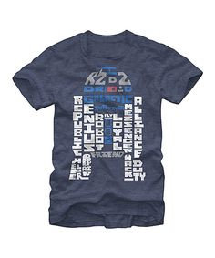 Typographic R2D2 Tee #zulily #ad *love