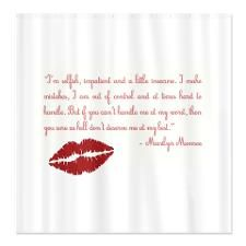 1 Audrey Hepburn Shower Curtain By IconHouse On Etsy