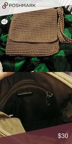 The sak crossover bag The sak crossover bag light tan color brand new The Sak Bags Crossbody Bags