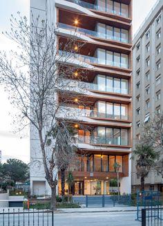 Building Exterior, Building Facade, Building Design, Building Skin, Building Elevation, Hotel Architecture, Residential Architecture, Architecture Design, Building Architecture