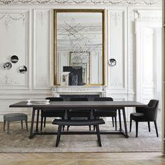 Mesa de comedor / rectangular / de interior / moderna RECIPIO '14 MAXALTO