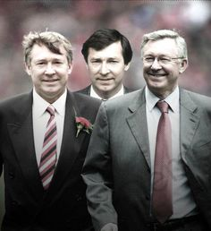 Sir Alex Ferguson through the years.....
