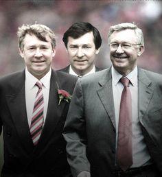 Sir Alex Ferguson through the years.....
