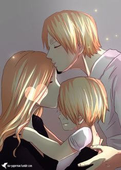 One Piece, Sanji and his mother