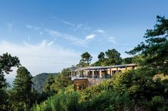 Contemporary Exterior and Gluck+ in Blue Ridge Mountains, NC