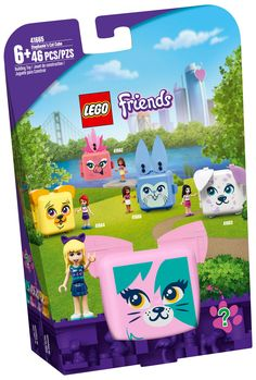 Lego Friends, Cubes, Cat Cube, Cat Gym, Cadeau Surprise, Son Chat, Kitten Toys, Lego Construction, Birthday Gifts For Kids