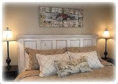 Homemade Headboard Ideas - Bing Images
