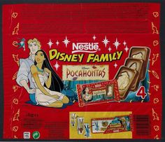 Pocahontas Chocolate Bars Childhood Memories 90s, Childhood Toys, Disney Candy, It's Over Now, 1990s Nostalgia, Kawaii Doodles, 80s Kids, Disney Merchandise, Disney Family