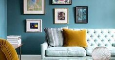 Just liked this Pin: shades of teal with a pop of ochre. http://ift.tt/2j5anTU