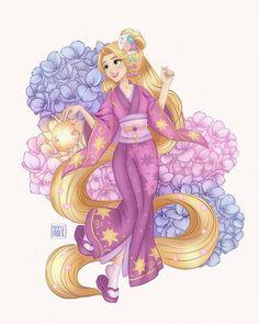 Disney Princess Rapunzel, Disney Princess Drawings, Disney Princess Pictures, Disney Tangled, Disney Drawings, Film Disney, Arte Disney, Disney Love, Disney Magic