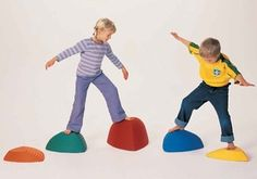 Hilltops Balance Stepping Stones - Free Shipping at SensoryEdge - Sensory Toys & Activities