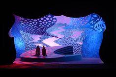 David Hockney – décor pour l'opéra Die Frau ohne Schatten, de Richard Strauss (1992)