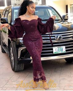 76 Edition Of - Aso Ebi Lace and African Print Outfits To look Super Beautiful & Trendy Nigerian Lace Styles Dress, Aso Ebi Lace Styles, African Lace Styles, Lace Dress Styles, Ghanaian Lace Styles, Nigerian Outfits, Lace Dresses, African Maxi Dresses, African Inspired Fashion