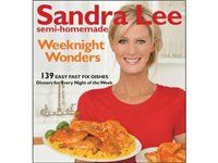"Love Sandra Lee -- especially her ""Semi-Homemade"" ideas"
