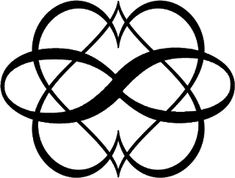 One in a series of three potential symbols for Polyamory which I may or may not be considering getting tattooed.> Pols One Couple Tattoos, Love Tattoos, Body Art Tattoos, Tattoos For Women, Tatoos, Tatouage Amour Éternel, Relationship Tattoos, Infinity Tattoos, Infinity Tattoo On Wrist
