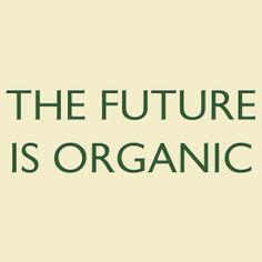THE FUTURE IS ORGANIC #gardening #gardener #gardens #horticulture #flowers #vegetable #vege #veges #vegetables #thsirt #tshirts #tee #tees #teeshirt #shirt #compost #composting #permaculture #organic #organics #farming #biodynamics #biodynamic #certified