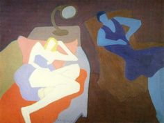 1950_Milton_Avery_(American_artist,_1885-1965)__Two_Women.jpg 600×455픽셀