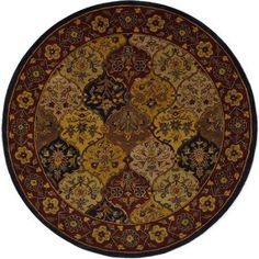 Safavieh Heritage Hand Tufted Wool Area Rug, Multicolor