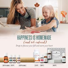 What can essential oils do for you and your family? Essential Oils Canada, Young Living Essential Oils, Clean Living, Homemade, Happy, October, Happiness, Sign, Free Shipping