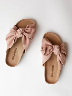 Ulla Johnson - Ingrid Slide - Rose Suede - PRE-ORDER