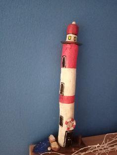Leuchtturm aus Treibholz Driftwood, Lighthouse, Light Fixtures, Ideas