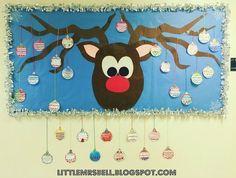 Little Mrs. Bell: Christmas Bulletin Board FREEBIE!
