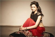 Deepika Padukone in lavishing red
