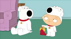 Family Guy: Brian and Stewie Family Guy Stewie, Family Guy Funny, Cartoon Tv, Cartoon Shows, Cartoon Characters, Cartoon Network Adventure Time, Adventure Time Anime, Brian Family Guy, Mini Bullterrier