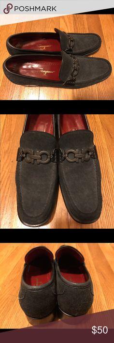 Salvatore Ferragamo Suede Loafers Salvatore Ferragamo Suede Loafers, size 8.5, Good condition! Only show wear on the bottoms. Salvatore Ferragamo Shoes Flats & Loafers