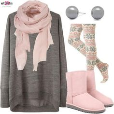 13 Latest Style Winter Outfits for Teen Girls - etcfn.com