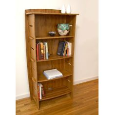 "Legare 59-Inch by 31-Inch Bookcase by Legaré Fun-To-Assemble Furniture. $323.65. Manufactured entirely from highly sustainable, organically grown bamboo from the famed ?moso? forests of China ? inherently known for its perfect color, grain, density and strength. Laminated using E-1 grade VOC-free adhesives.. Includes four 24"" width adjustable shelves & accommodates up to eight shelves. Amazingly simple 2 minute tool-free assembly. Concealed cable management. The Legar..."