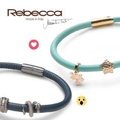 Per Lui o Per Lei? Dillo con un Wow 😯 o con un Love <3! Trovi My WorLd su rebecca.it!   #rebeccachallenge #rebeccagioielli
