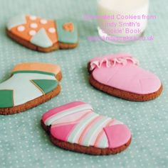 Baby Sock Cookie Cutter by Lindy Smith