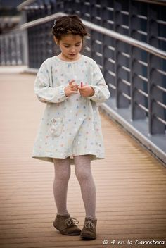 4 EN LA CARRETERA. Handmade: MARATÓN TELARIA: POCHO DRESS