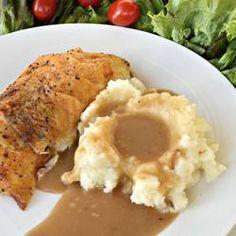 Roast Chicken Pan Gravy