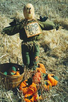 Fall Scarecrow and Pumpkin Patterns on Etsy.