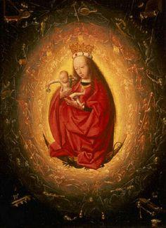Geertgen tot Sint Jans - De verheerlijking van Maria
