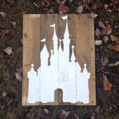 Rustic hand-painted sign made from naturally distressed barn and pallet wood. Size: approx 16x20. Available in larger sizes and other colors.
