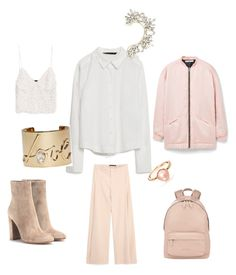 """""""Untitled #678"""" by raluca-denisat on Polyvore featuring Zara, Givenchy, MANGO, Gianvito Rossi, Lanvin, BCBGMAXAZRIA, women's clothing, women, female and woman"""