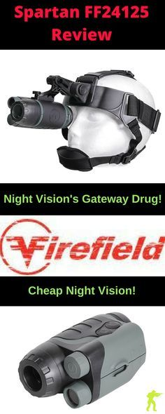 The Firefield FF24125 Spartan Night Vision Monocular/ Goggle Review | Night Vision's Gateway Drug! | Night Vision Warrior