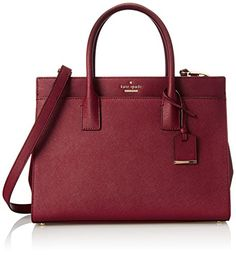 kate spade new york Cameron Street Candace Satchel Bag, Train Car Red, One Size | AMAZON.COM saved by #ShoppingIS