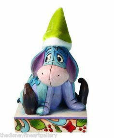 "Jim Shore Disney Traditions ""Eeyore Santa's Little Helper"""