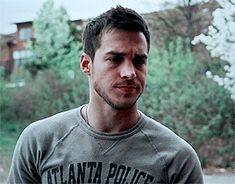 Chris Wood as Gabriel Stone in Bloodlines: Flawed Wattpad William Moseley, Vampire Diaries Wallpaper, Chris Brown, Supergirl, Cute Guys, Sexy Men, Husband, Boys, Chris Wood Containment