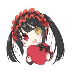 Chibi Anime, Chica Anime Manga, Otaku Anime, Date A Live, Re Zero Wallpaper, Death Note Funny, Anime Date, Waifu Material, Fanart