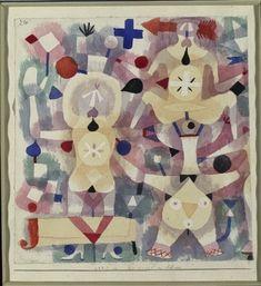 carnaval dans le neige de Paul Klee (1879-1940, Switzerland)