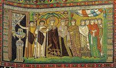 Mosaic of Empress Theodora and her attendants - Basilica San Vitale (Ravenna) - Petar Milošević - Own work