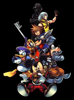 the 23 best kingdom hearts hd wallpapers images on pinterest